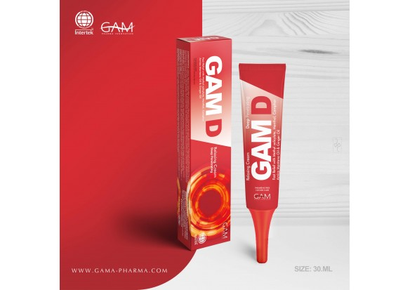 GAM D KREAM (75 ml - 30 ml / 2.53 fl oz - 1.012 fl oz)