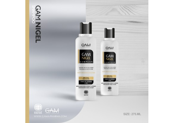 GAM NIGEL ŞAMPUAN 275 ml / 9.3 fl oz